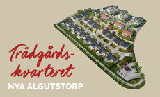 Hitta hem i trädgårdskvarteret Nya Algutstorp, Vårgårda